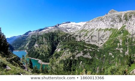 オーストリア 自然 山 ゲート エンジニアリング 登る ストックフォト © enricoagostoni