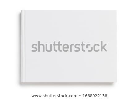 Quote on White Rectangular Sheet Template Stock photo © Voysla