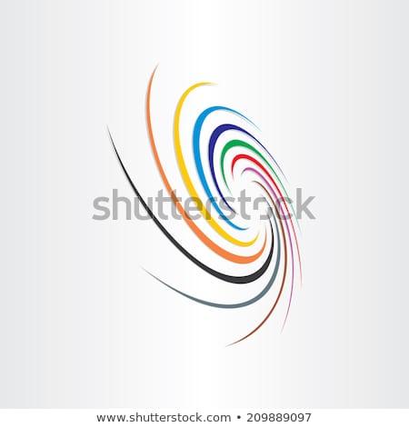 Resumen color tornado arco iris velocidad colorido Foto stock © blaskorizov