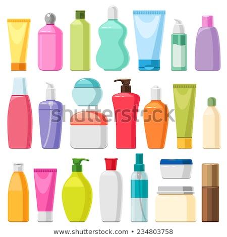 şampuan şişe şablon dizayn mükemmel eps Stok fotoğraf © netkov1