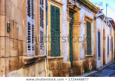 Asim efendi street, narrow historic street in central Nicosia Stock photo © Kirill_M