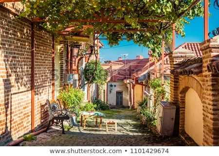 Ver cidade velha Geórgia região céu edifício Foto stock © master1305