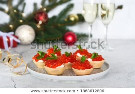 ストックフォト: 赤 · 魚 · を祝う · クリスマス · 実例 · 海