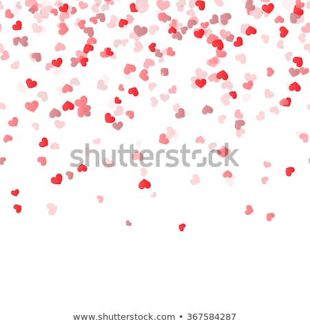 seamless heart background stock photo © frescomovie