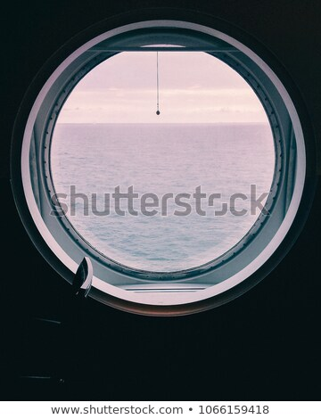 View through a porthole  Stock photo © Kotenko