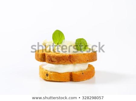 Croccante rotolare formaggio tagliere pane nessuno Foto d'archivio © Digifoodstock