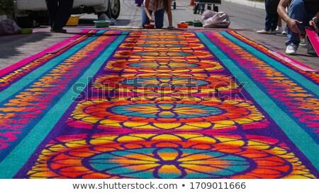 Carpet of sawdust Stock photo © Fotografiche