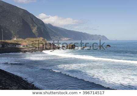 Madeira sziget óceán tengerpart égbolt víz Stock fotó © compuinfoto
