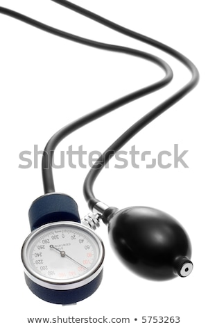 Blood pressure gauge, sphygmomanometer Stock photo © Klinker