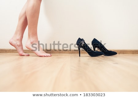 Young dancer, lots of copyspace  Stock photo © konradbak