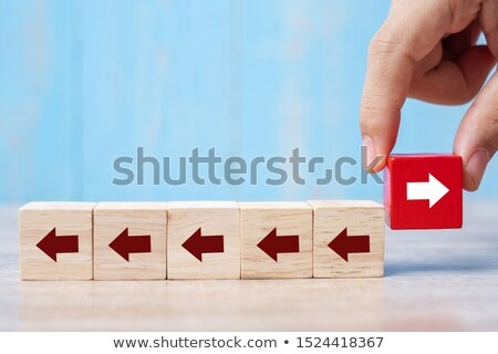 Stock photo: Pulling In Different Directions