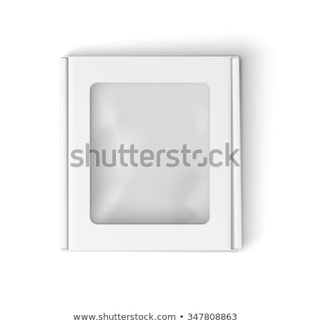 Stock photo: A closed clear window