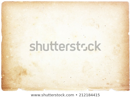 Stock photo: Blank Antique Paper
