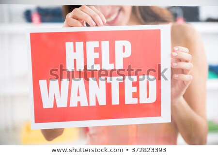 help wanted in the store Stock photo © adrenalina