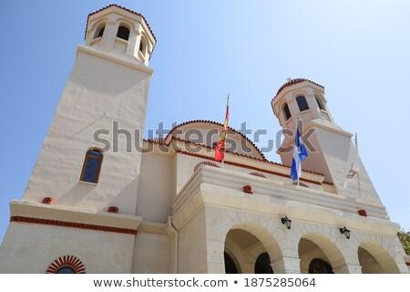 教会 市 ギリシャ ランドマーク アーキテクチャ ストックフォト © tony4urban