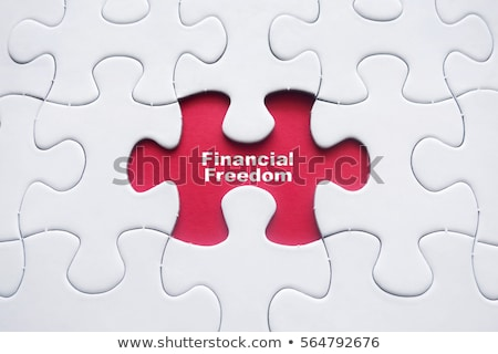 Puzzle with word Freedom Stock photo © fuzzbones0