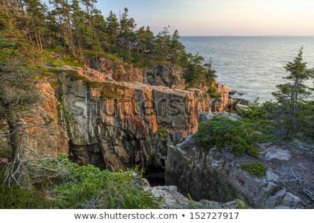 日没 公園 hdr 画像 表示 崖 ストックフォト © CaptureLight