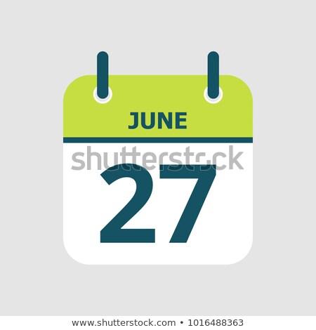 27th June Stock photo © Oakozhan