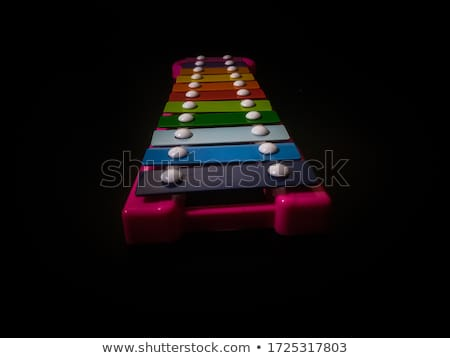 Colorful xylophone with sticks Stock photo © bluering