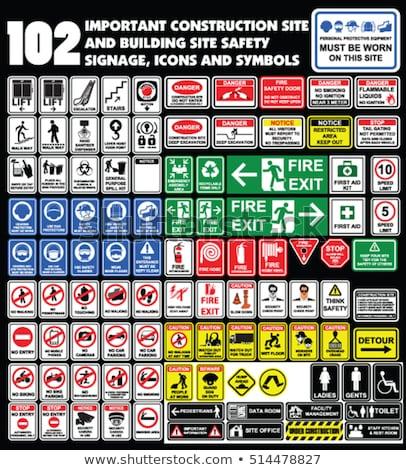 no smoking signs collection vector stock photo © nezezon