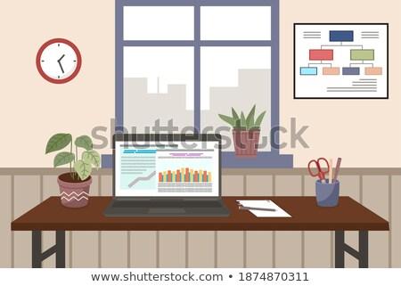 Financiar crecimiento informe contabilidad estadística Foto stock © Customdesigner