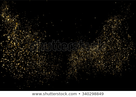 Golden background of sparkling sequins. EPS 10 Stock photo © beholdereye