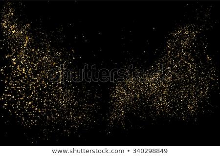 golden background of sparkling sequins eps 10 stock photo © beholdereye