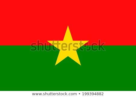 Vlag Burkina textuur abstract natuur ontwerp Stockfoto © ojal