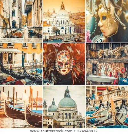 carnaval · detail · masker · partij · gezicht · achtergrond - stockfoto © alphaspirit