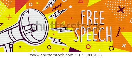 freedom of expression stock photo © lightsource