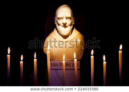 Padre Pio Pilgrimage Church Stock photo © benkrut
