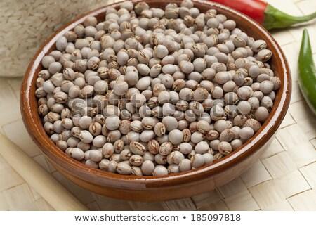 Dried pigeon peas Stock photo © sarahdoow