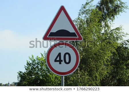 Two green direction signs - Risk or Safety Stock photo © Zerbor