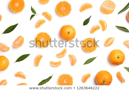 peeled tangerine segments Stock photo © Digifoodstock