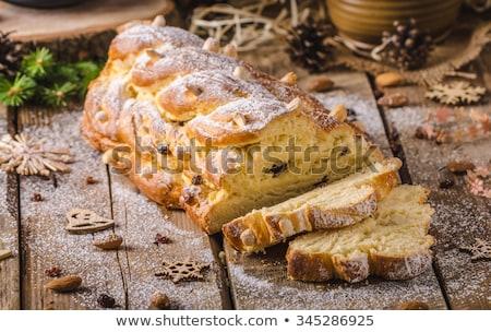 Slices of Czech Christmas bread Stock photo © Digifoodstock