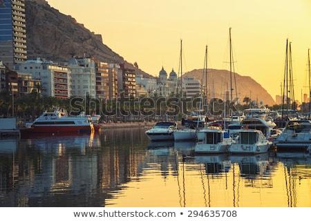 Mediterranean Sea at sunrise. Costa Blanca. Spain Stock photo © amok