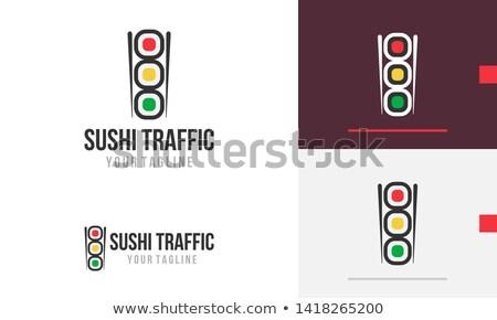 светофора Creative Японский суши пластина Сток-фото © Fisher