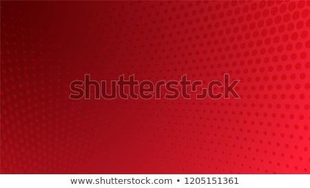 Halftone red background Stock photo © ESSL