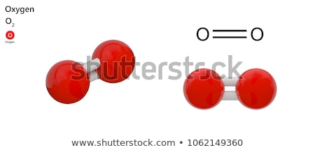 Vegyi alkotóelem oxigén összes iskola technológia Stock fotó © carenas1