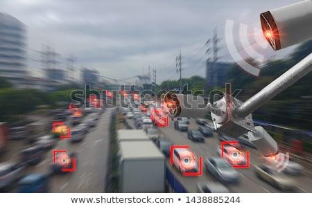 Data Traffic Monitoring - Business Concept. Stock photo © tashatuvango