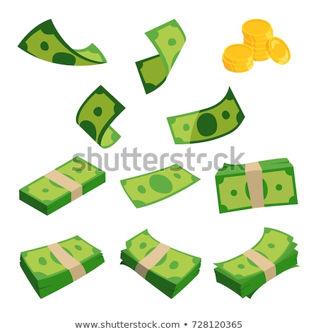 currency notes and dollar coins Stock photo © get4net