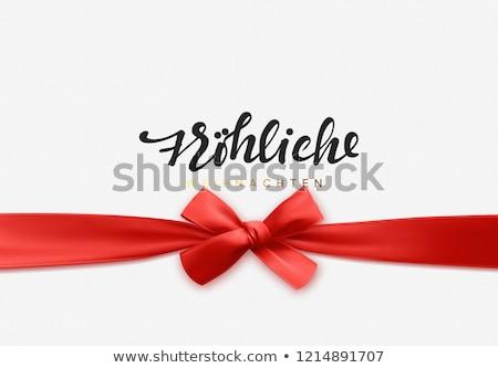 szczęśliwy · karty · szablon · świetle · gwiazdki · ilustracja - zdjęcia stock © articular