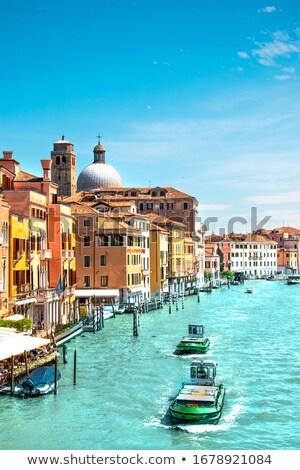 Colorido canal Veneza ver turista destino Foto stock © xbrchx