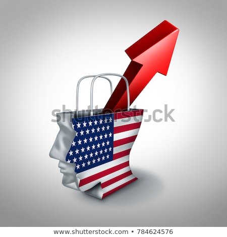 United States Consumer Condidence Rise Stock photo © Lightsource