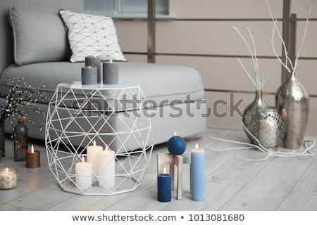 Candles and holders in different designs Stock photo © bluering