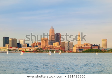 Skyscrapers in Cleveland Stock photo © benkrut