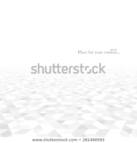 Geometric mosaic pattern in perspective Stock photo © sidmay