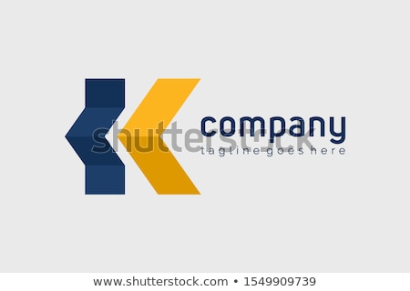 house logo with letter K sign. logo template stock photo © taufik_al_amin