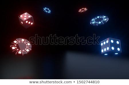Casino dadi tavola 3D business Foto d'archivio © user_11870380