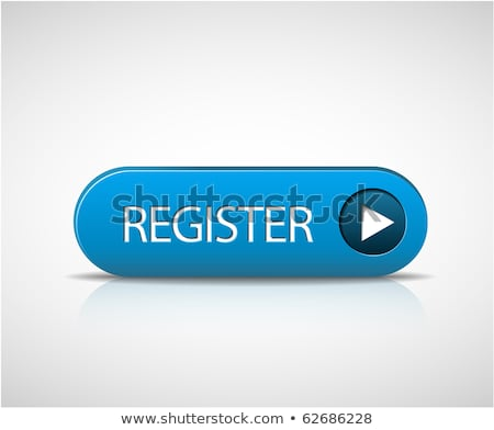 Big blue register button Stock photo © orson
